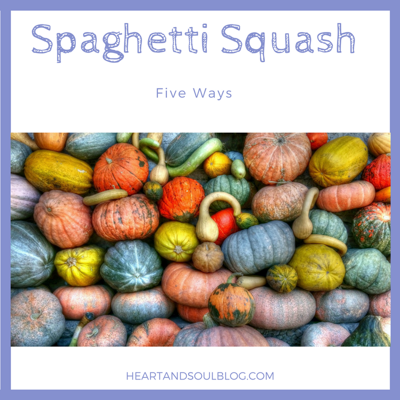 Spaghetti Squash Five Ways thumbnail image
