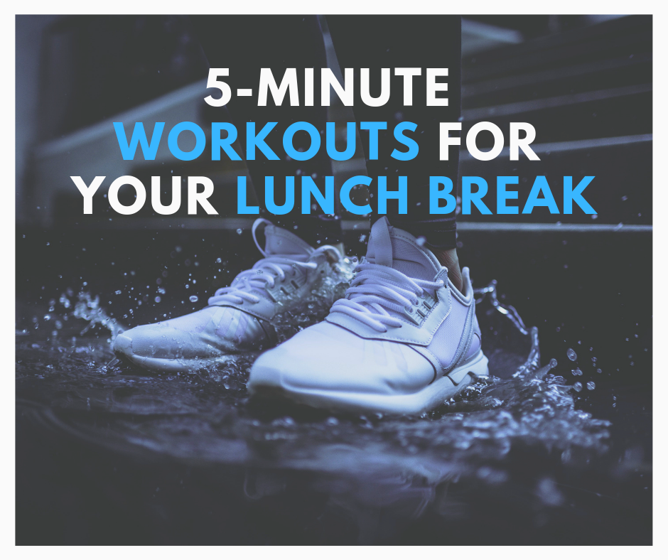 5-Minute Workouts for Your Lunch Break thumbnail image