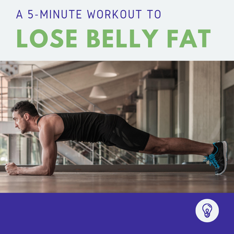 5-Minute Workout to Lose Belly Fat thumbnail image