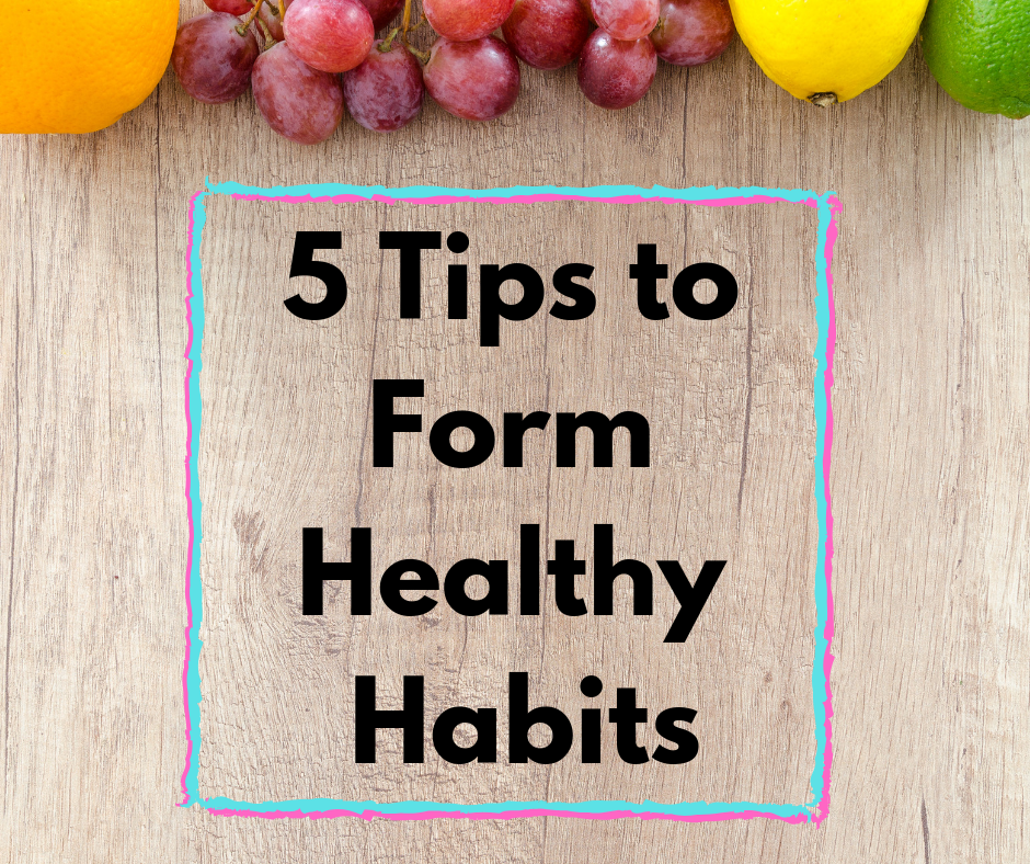 5 Tips to Form Healthy Habits thumbnail image