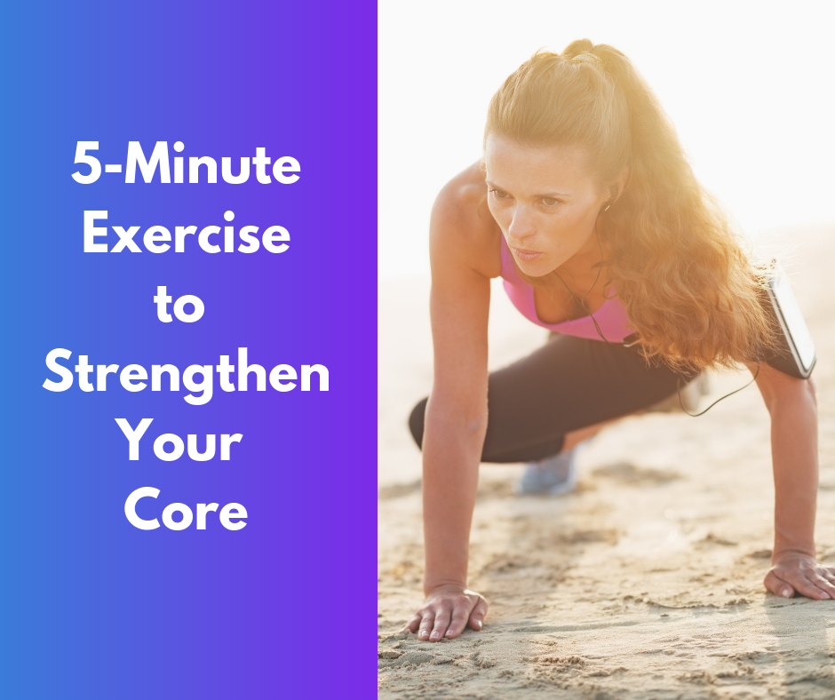 5-Minute Exercise to Strengthen Your Core thumbnail image