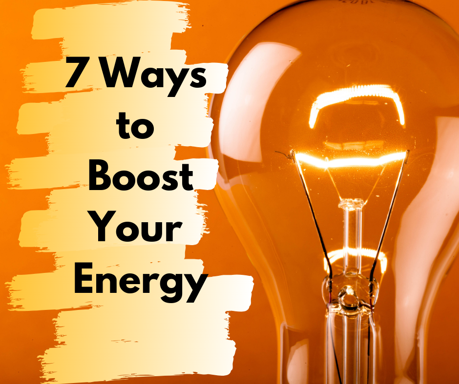 7 Ways to Boost Your Energy thumbnail image