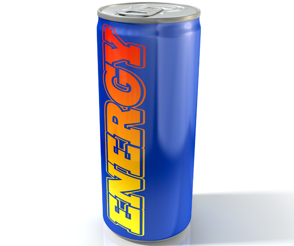 """image of blue can with """"energy"""" printed on it"""