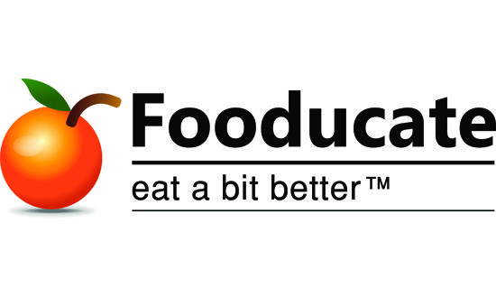 orange next to text that reads Fooducate eat a bit better