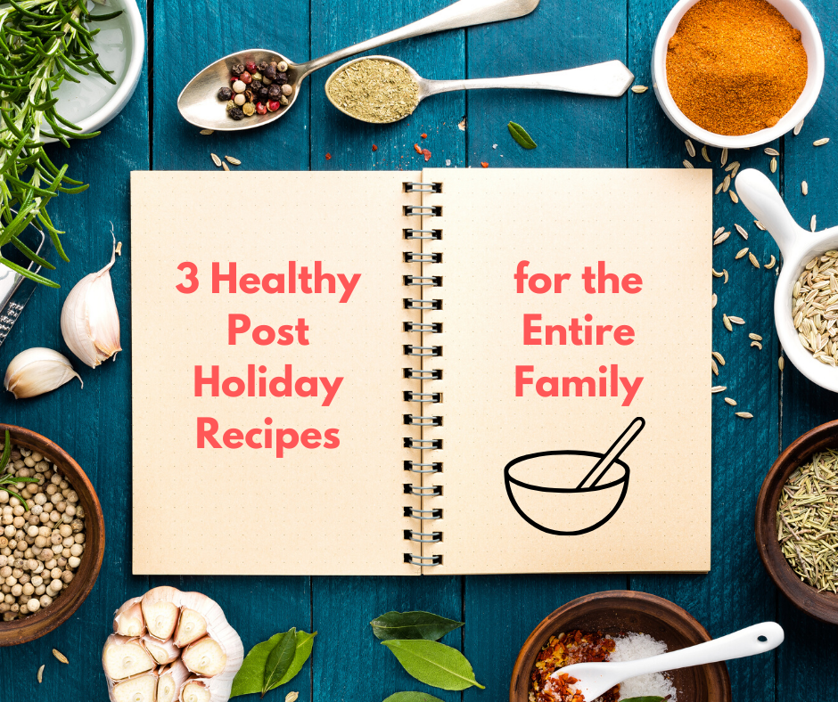 3 Healthy Post Holiday Recipes for the Entire Family thumbnail image