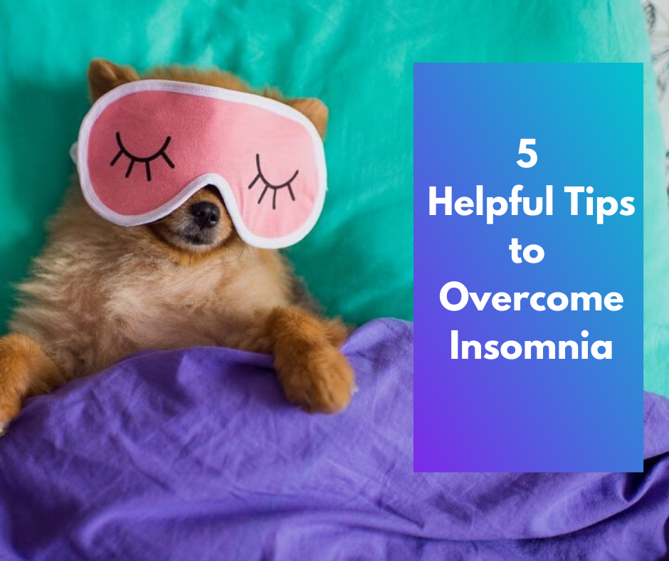 5 Helpful Tips to Overcome Insomnia thumbnail image