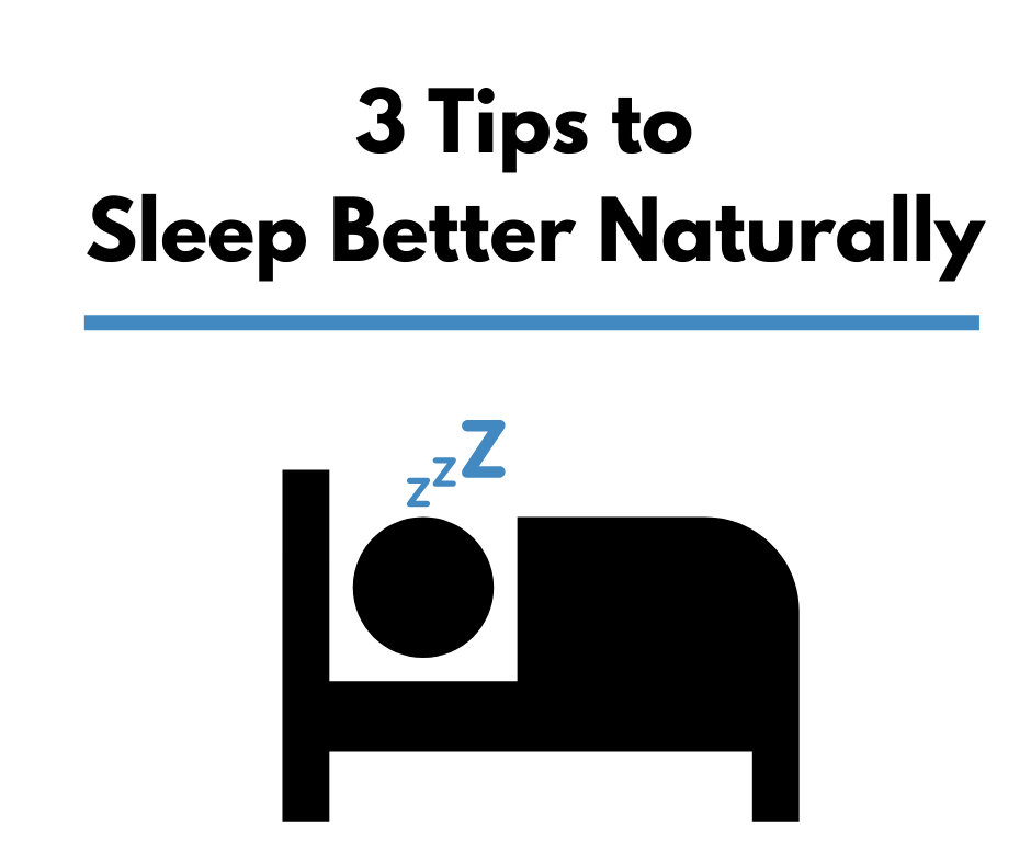 3 Tips to Sleep Better Naturally thumbnail image