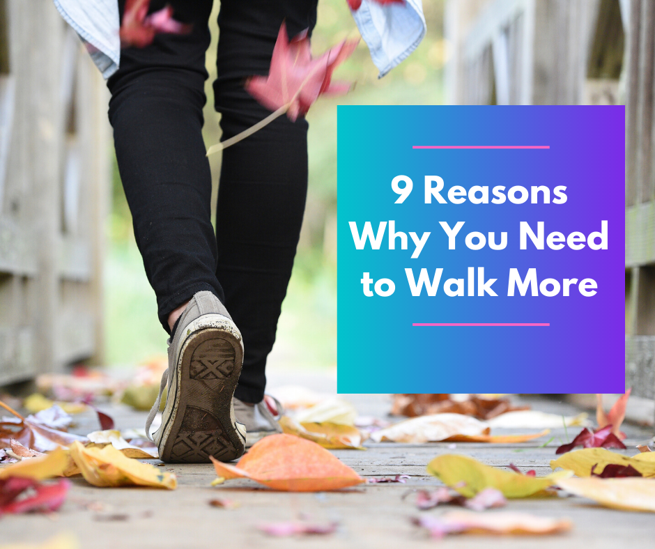 9 Reasons Why You Need to Walk More thumbnail image